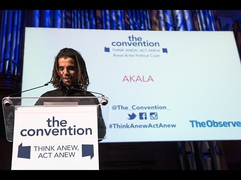 "Akala: ""The battle of Britishness in the age of Brexit"" The Convention  The Convention"